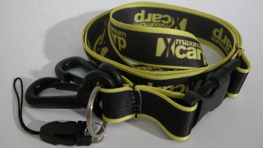 Nyckelband med logotyp.