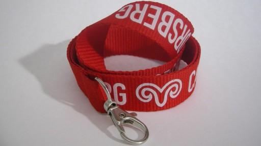ECO Nyckelband med tryckt logotyp.