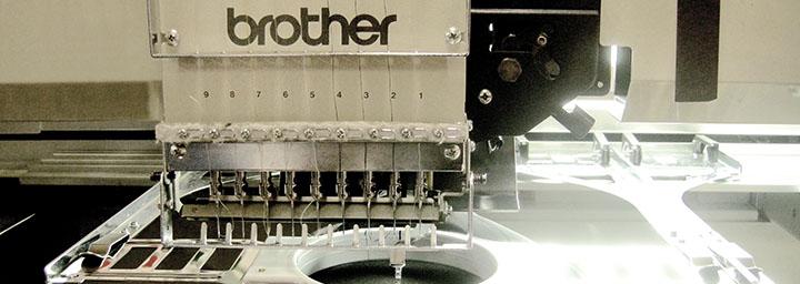 Brodyrhusets maskin, så här jobbar vi med brodyr